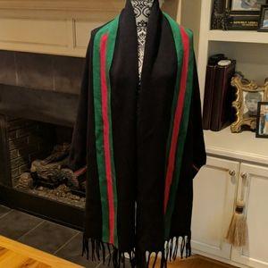 NWT Striped shawl
